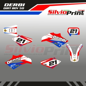 Grafiche Minicross | Adesivi Minicross - DERBI DIRT BOY - SPORT