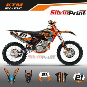 Grafiche MX | Adesivi Motocross | Enduro - KTM SX SXF EXC EXCF - TECH