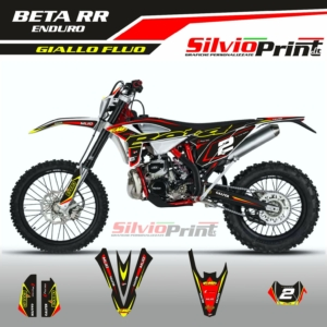 Grafiche ENDURO | Adesivi per Enduro - BETA RR - SHOT