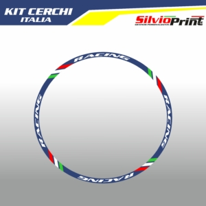 Adesivi per Cerchi Motocross Enduro - ITALIA