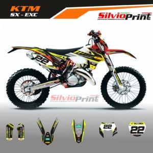 Grafiche MX | Adesivi Motocross | Enduro - KTM SX EXC SX EXCF - SUN
