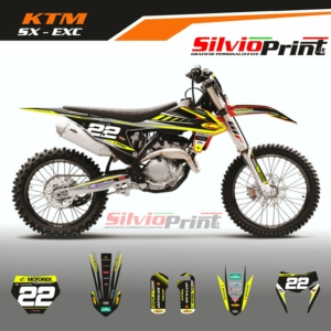 Grafiche MX   Adesivi Motocross   Enduro - KTM SX EXC SX EXCF - TOP