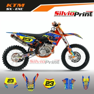 Grafiche MX | Adesivi Motocross | Enduro - KTM SX EXC SX EXCF - WALL
