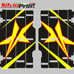 Grafiche MX | Adesivi Alette Radiatori per Motocross - ENDURO - SUZUKI RM RMZ - STAR