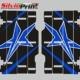 Grafiche MX | Adesivi Alette Radiatori per Motocross - ENDURO - YAMAHA YZ YZF - STAR