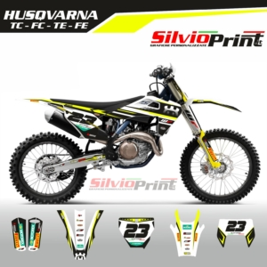 Grafiche MX | Adesivi Motocross | Enduro - HUSQVARNA FE TE TC FC - TECNO
