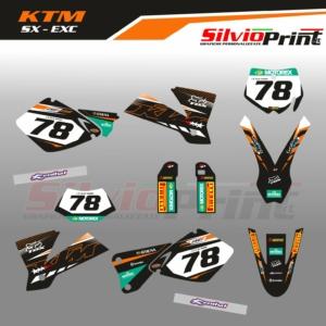 Grafiche MX | Adesivi Motocross - KTM EXC EXCF SX SXF - DATE