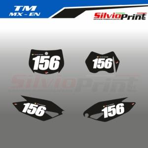 Grafiche MX   Adesivi Tabelle Porta Numero Motocross - Enduro - TM MX EN - EASY