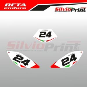 Grafiche | Adesivi Tabelle Porta Numero Enduro - BETA 50 - ITA