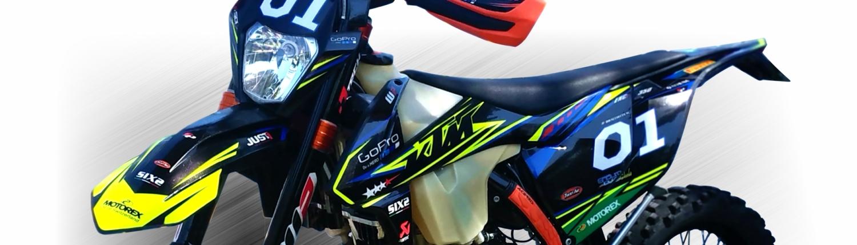 KTM EXCF 350 PER SLIDE