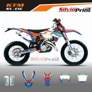 Grafiche MX   Adesivi Motocross - KTM EXC EXCF SX SXF - CLIP