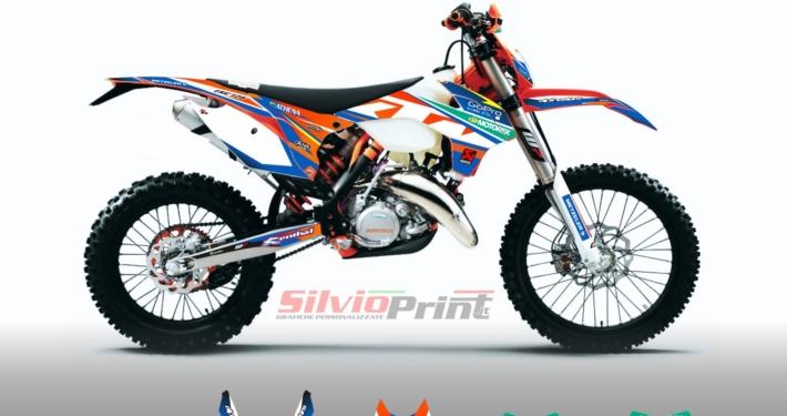Grafiche MX | Adesivi Motocross - KTM EXC EXCF SX SXF - CLIP