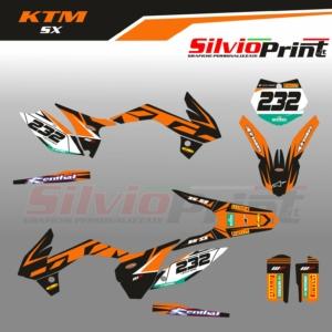 Grafiche MX | Adesivi Motocross - KTM SX - JUMP