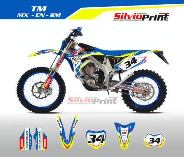 Grafiche MX | Adesivi Motocross | Enduro - TM RACE