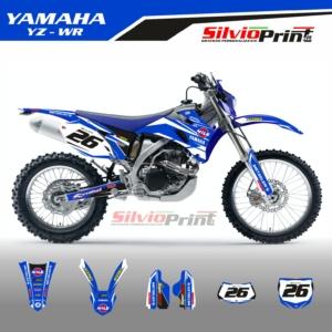 Grafiche MX | Adesivi Motocross | Enduro - YAMAHA YZF WRF - RACE