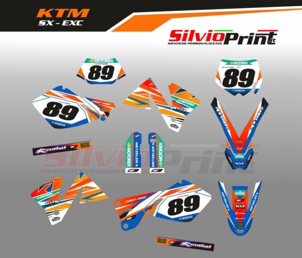 Grafiche MX | Adesivi Motocross - KTM EXC EXCF SX SXF - FEEL