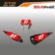 Grafiche MX | Adesivi Tabelle Porta Numero Motocross - Enduro - KTM SX SXF EXC EXCF - RACE