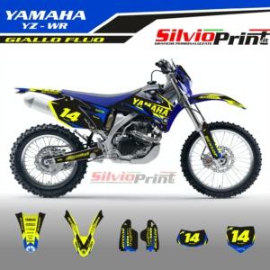 Grafiche MX | Adesivi Motocross | Enduro - YAMAHA YZF WRF - BACK FLUO