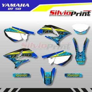 Grafiche Yamaha DT | Adesivi Motard - Enduro - YAMAHA DT 50 - WALL