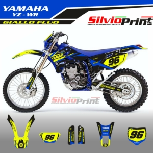 Grafiche MX | Adesivi Motocross | Enduro - YAMAHA YZF WRF - VIN FLUO