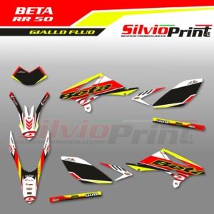 Grafiche BETA   Adesivi per Enduro - BETA RR 50 - RACE