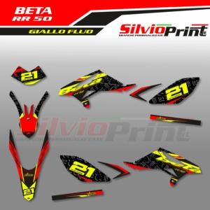 Grafiche BETA | Adesivi per Enduro - BETA RR 50 - SWITCH