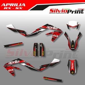 Grafiche APRILIA | Adesivi Motard - Enduro - APRILIA RX - SX - 50 - 125 - WALL