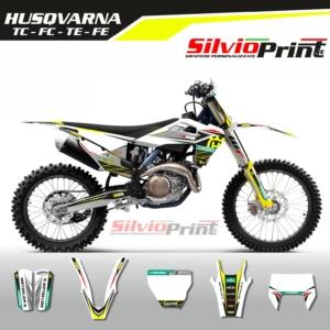 Grafiche MX | Adesivi Motocross | Enduro - HUSQVARNA FE TE TC FC - GEN THREE