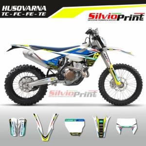 Grafiche MX | Adesivi Motocross | Enduro - HUSQVARNA FE TE TC FC - GEN TWO