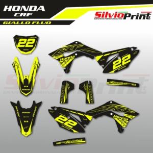 Grafiche MX | Adesivi Motocross - HONDA CRF - FLUO