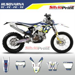 Grafiche MX | Adesivi Motocross | Enduro - HUSQVARNA FE TE TC FC - COLOR