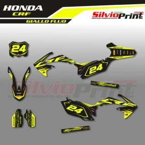 Grafiche MX | Adesivi per Motocross - HONDA CRF - LAB FLUO